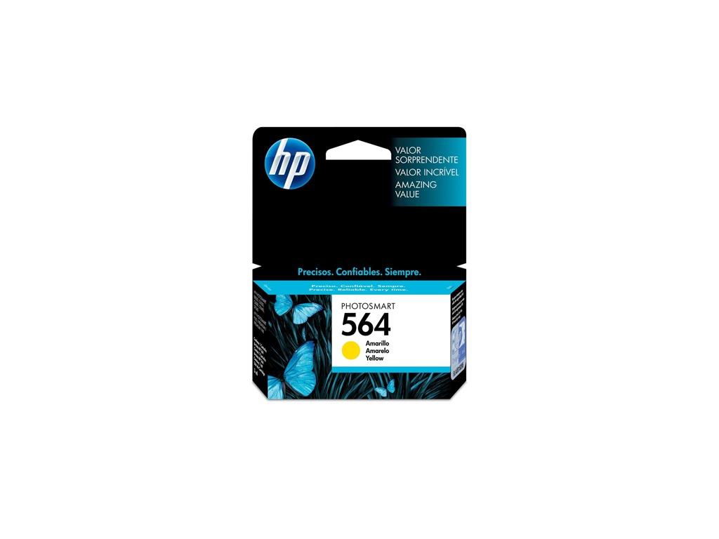 Cartucho de Tinta Original HP CB320WL (564) Amarillo