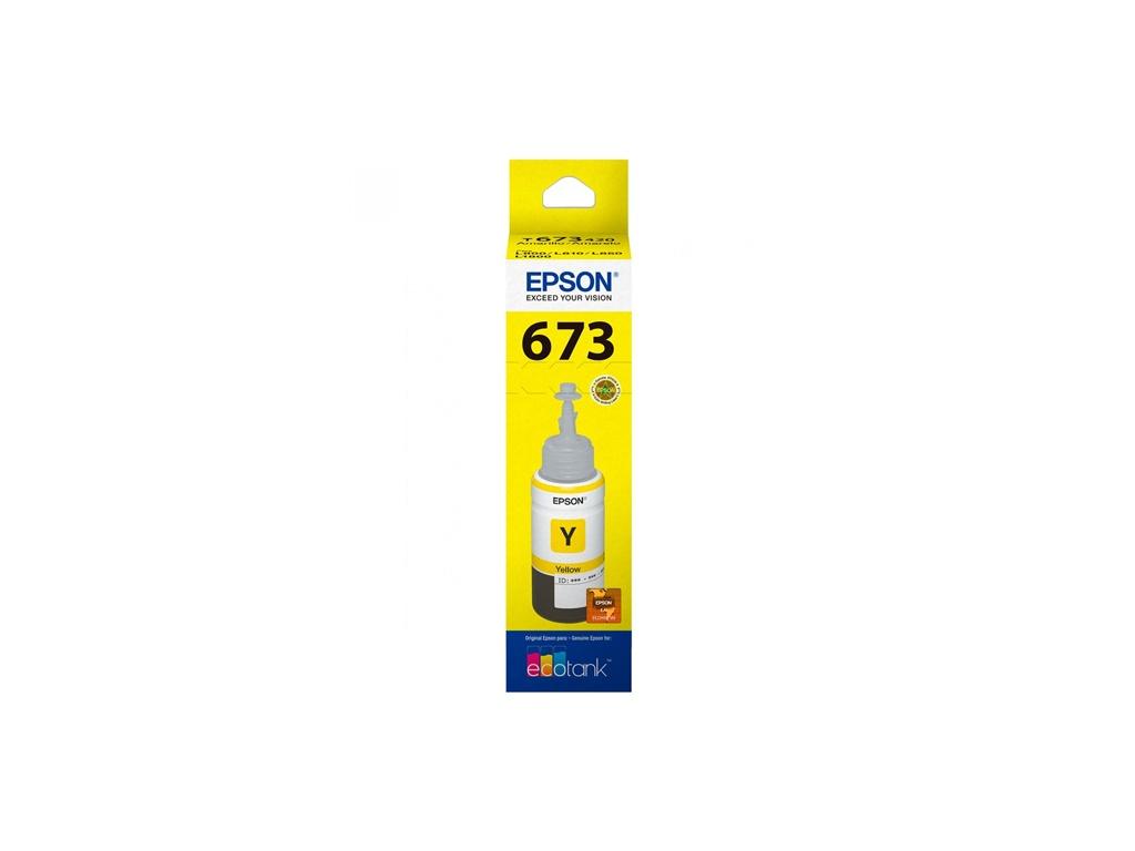 Botella de Tinta Original Epson T673420 Amarillo