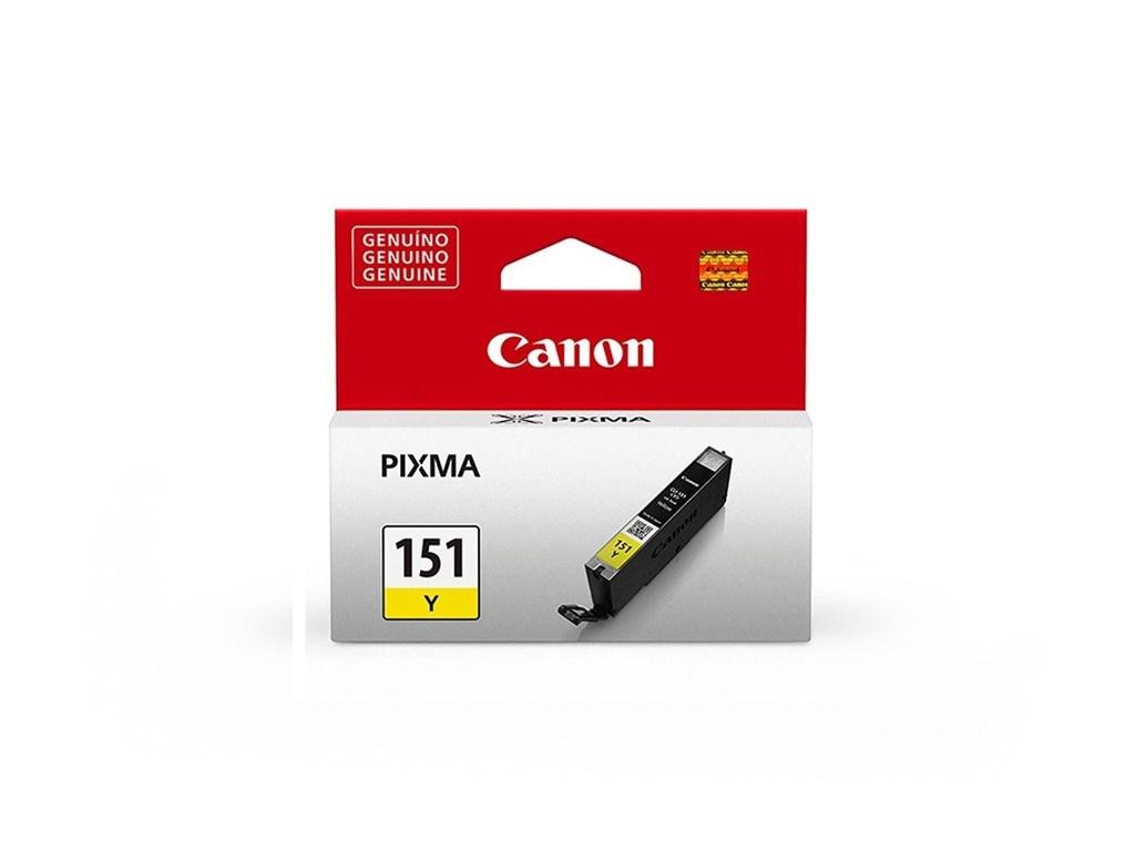 Cartucho de Tinta Canon Original CLI151 Amarillo