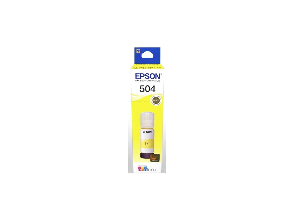 Botella de Tinta Original Epson T504420 Amarillo