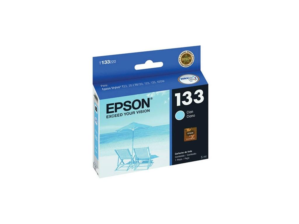 Cartucho de Tinta Epson Original T133220 Cyan