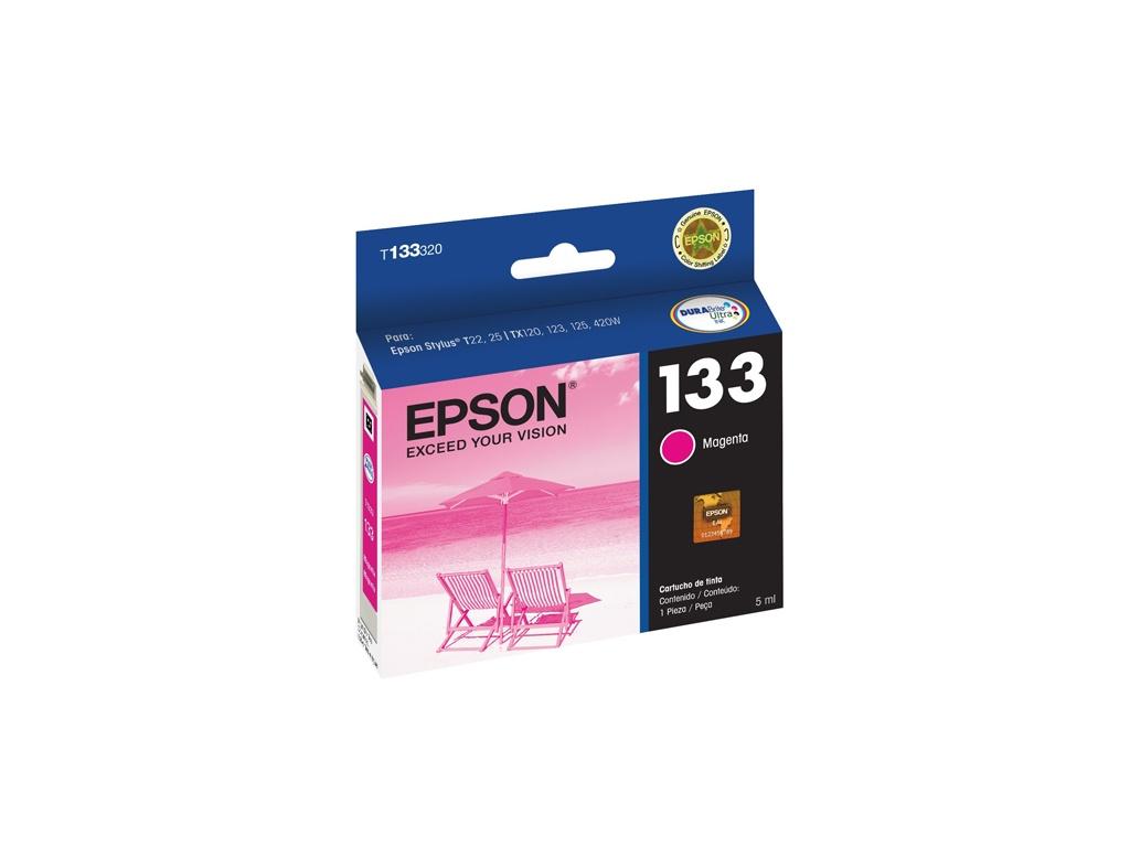 Cartucho de Tinta Epson Original T133320 Magenta