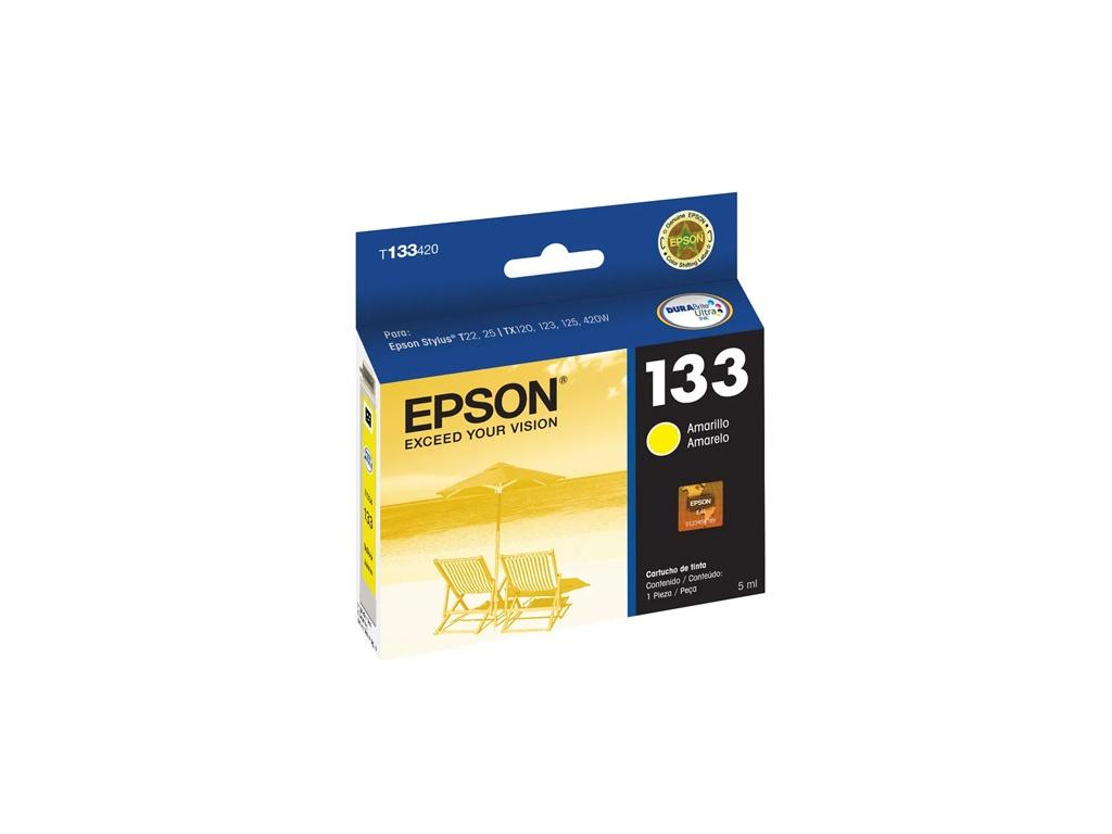 Cartucho de Tinta Epson Original T133420 Amarillo