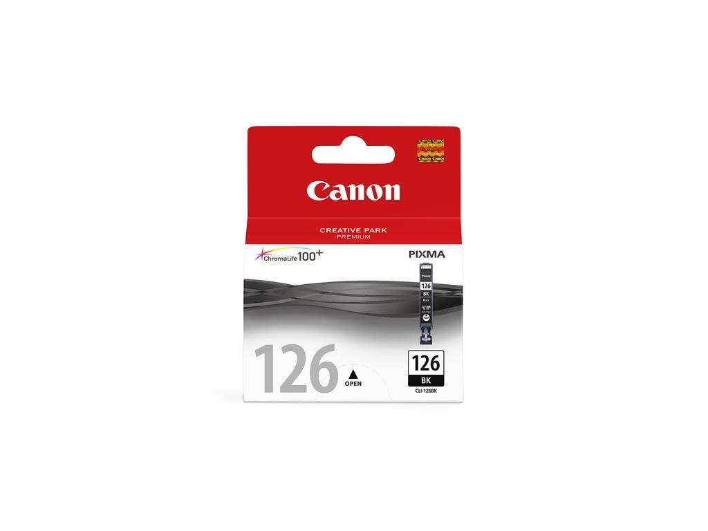 Cartucho de Tinta Canon Original CLI126 Negro