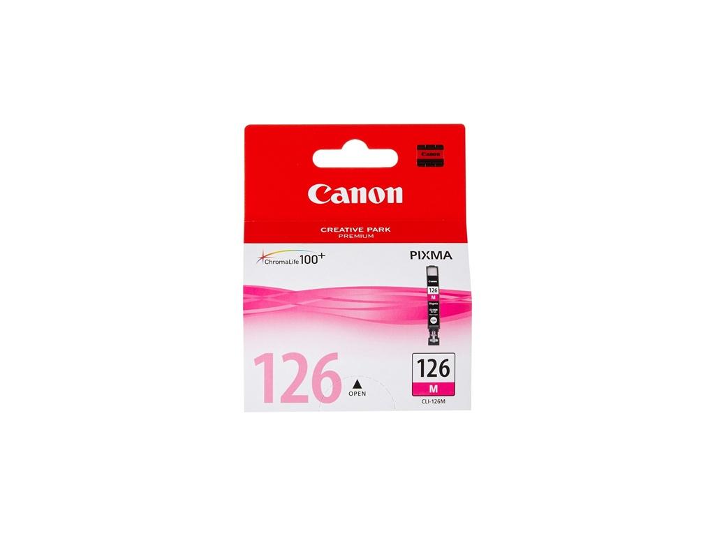 Cartucho de Tinta Canon Original CLI126 Magenta