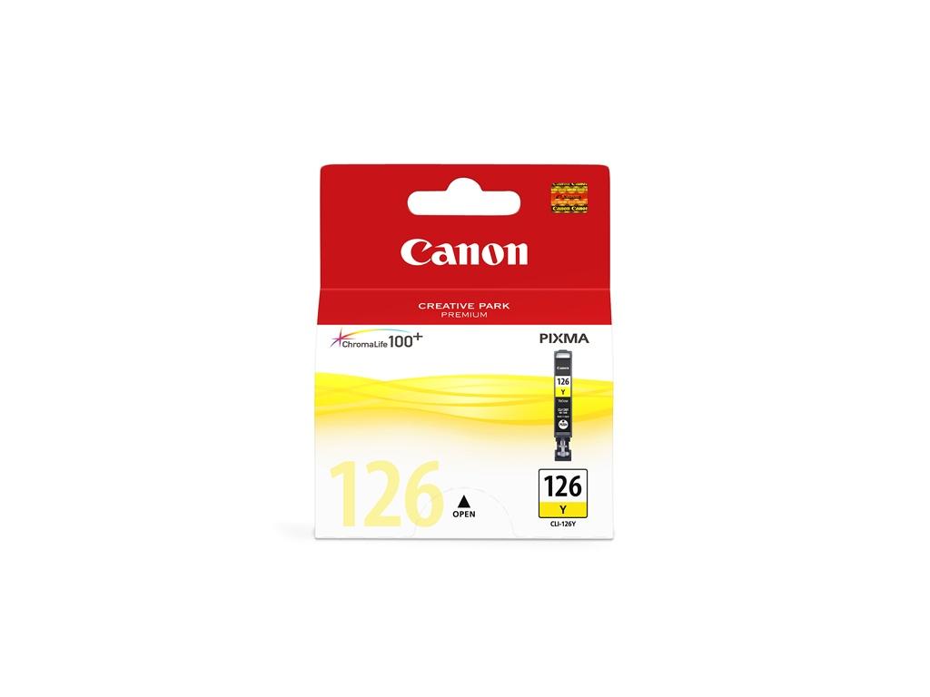 Cartucho de Tinta Canon Original CLI126 Amarillo