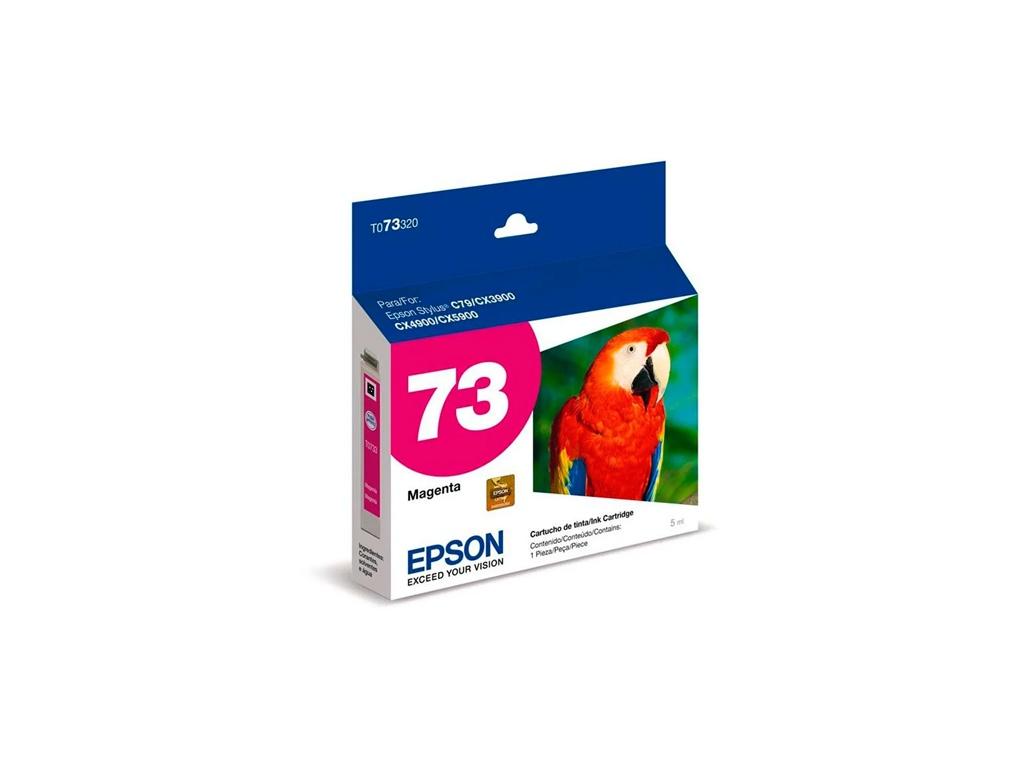 Cartucho de Tinta Epson Original T073320 Magenta