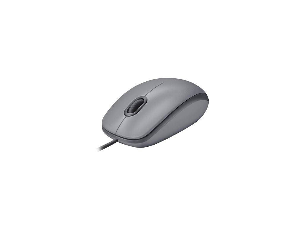 Mouse Logitech M110 Silver Silencioso