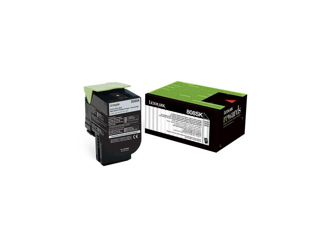Toner Original Lexmark 80C8SK0 Negro