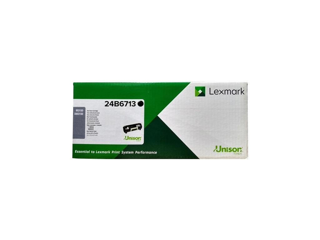 Toner Original Lexmark 24B6713 Negro