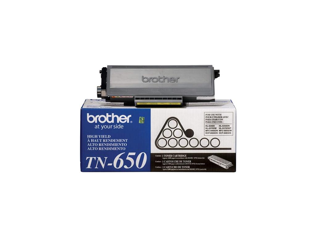 Toner Brother Original TN-650 Negro