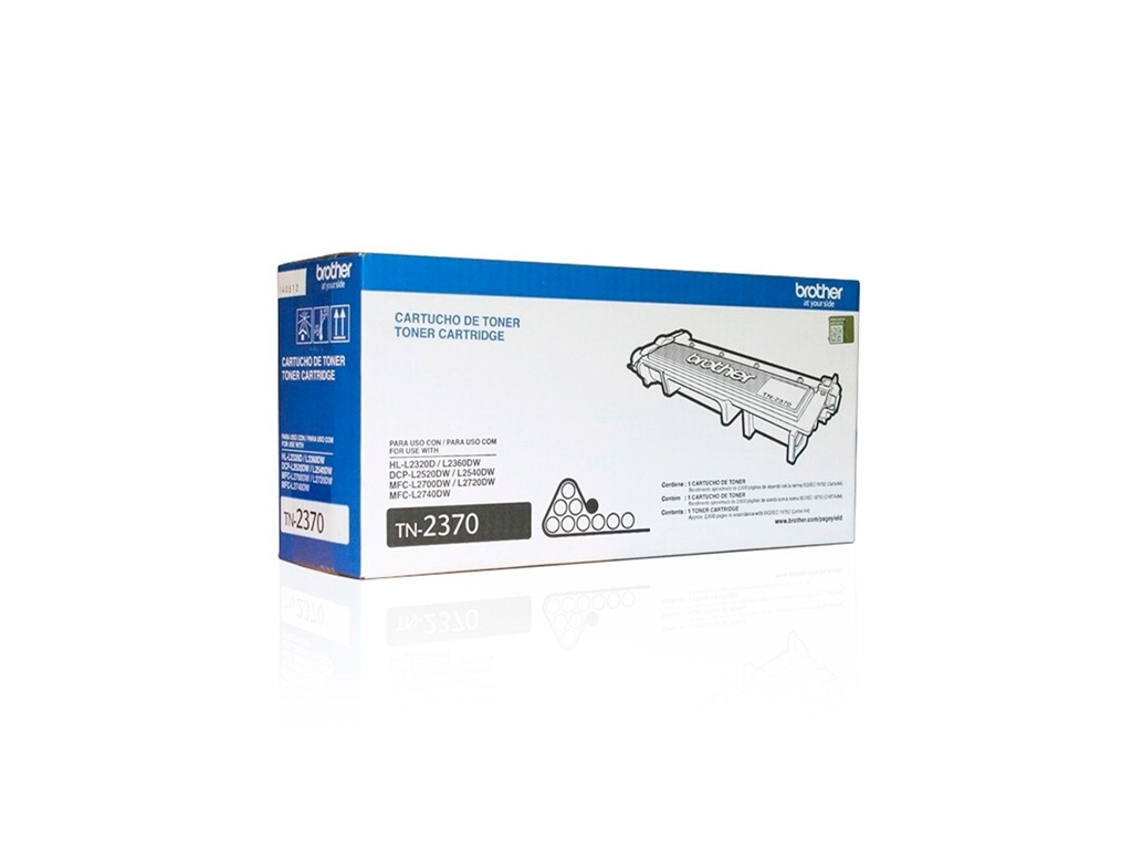 Toner Brother Original TN-2370 Negro