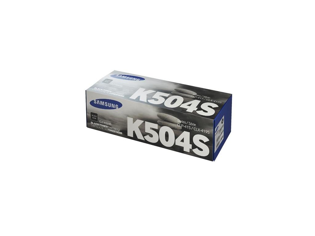 Toner Original Samsung CLT-K504S Negro
