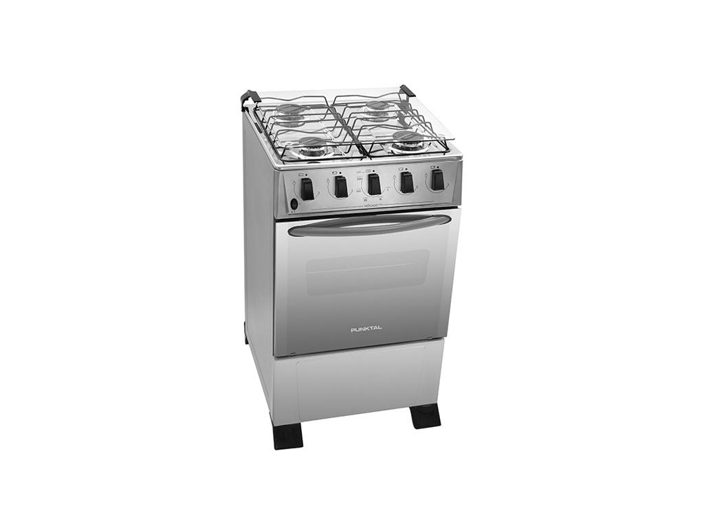 Cocina combinada moderna Punktal PK-CC6699 - 4 hornallas