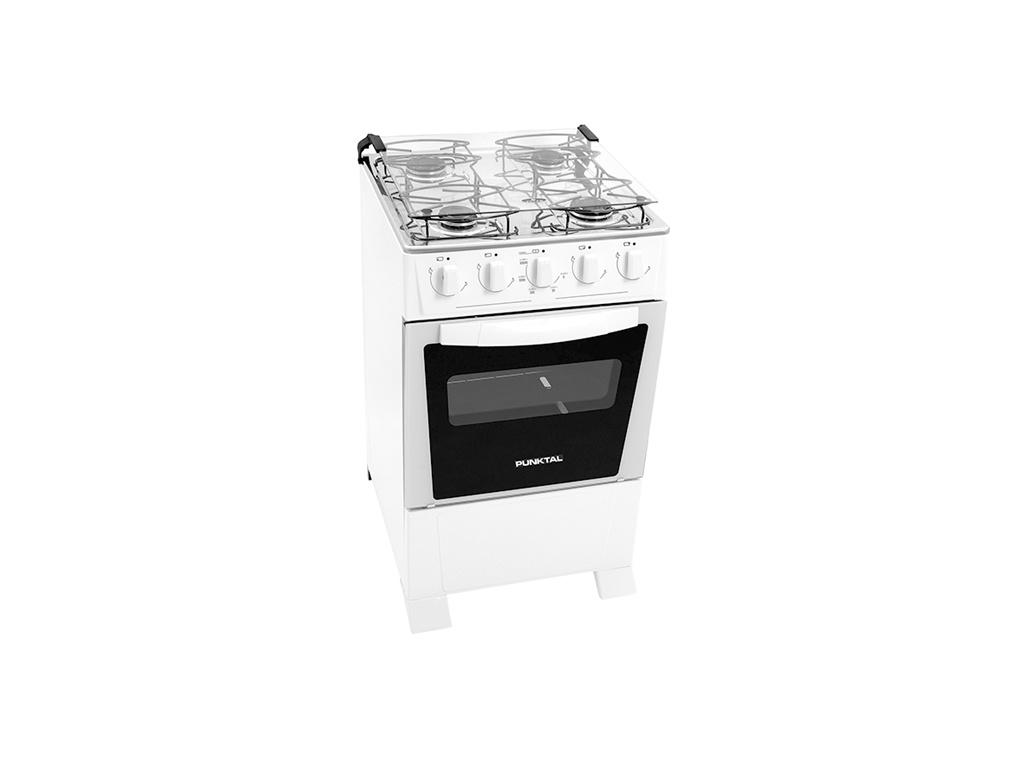 Cocina Super Gas Verona Marca:Punktal Modelo:PK-250C 4Hornallas a Gas