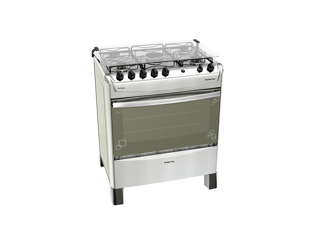 Cocina Fastcook inox Punktal PK-FC851X - 5 hornallas
