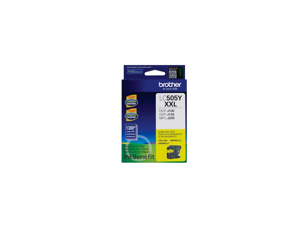 Cartucho de Tinta Brother Original LC-505Y Amarillo