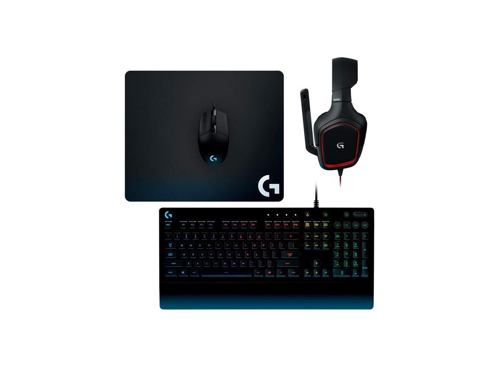 Combo Teclado y Mouse Logitech G203