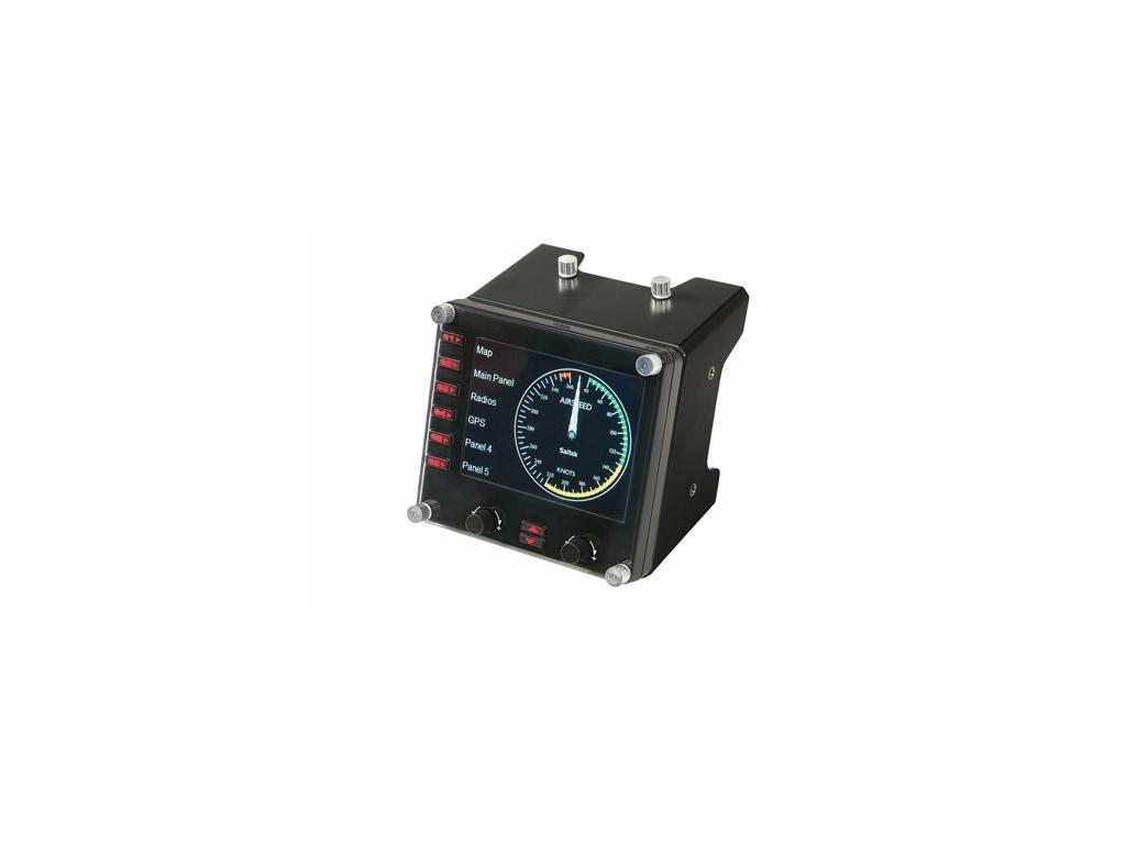 Controlador de simulación de vuelo Logitech 945-000027-