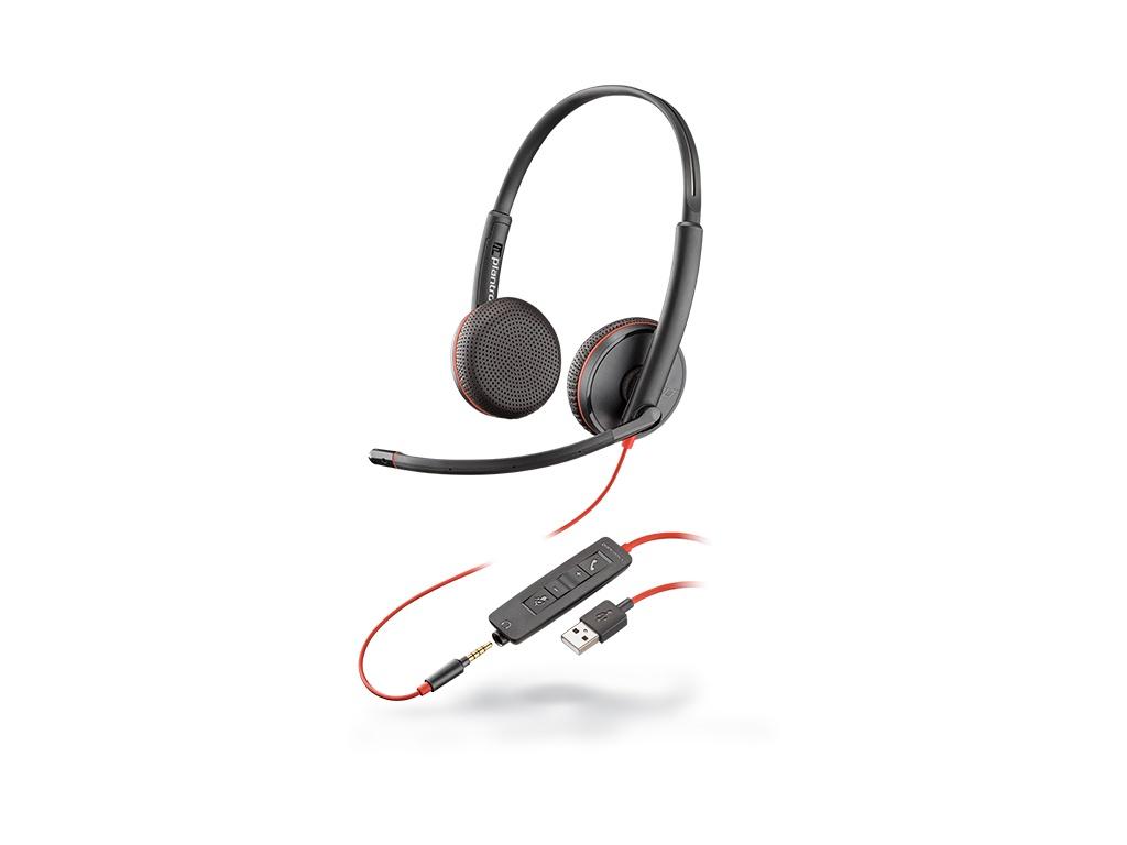 Vincha Plantronics Blackwire® 3225, USB-A P/N° 209747-101