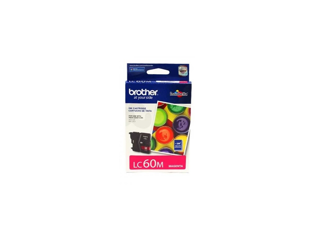 Cartucho de Tinta Brother Original LC-60M Magenta