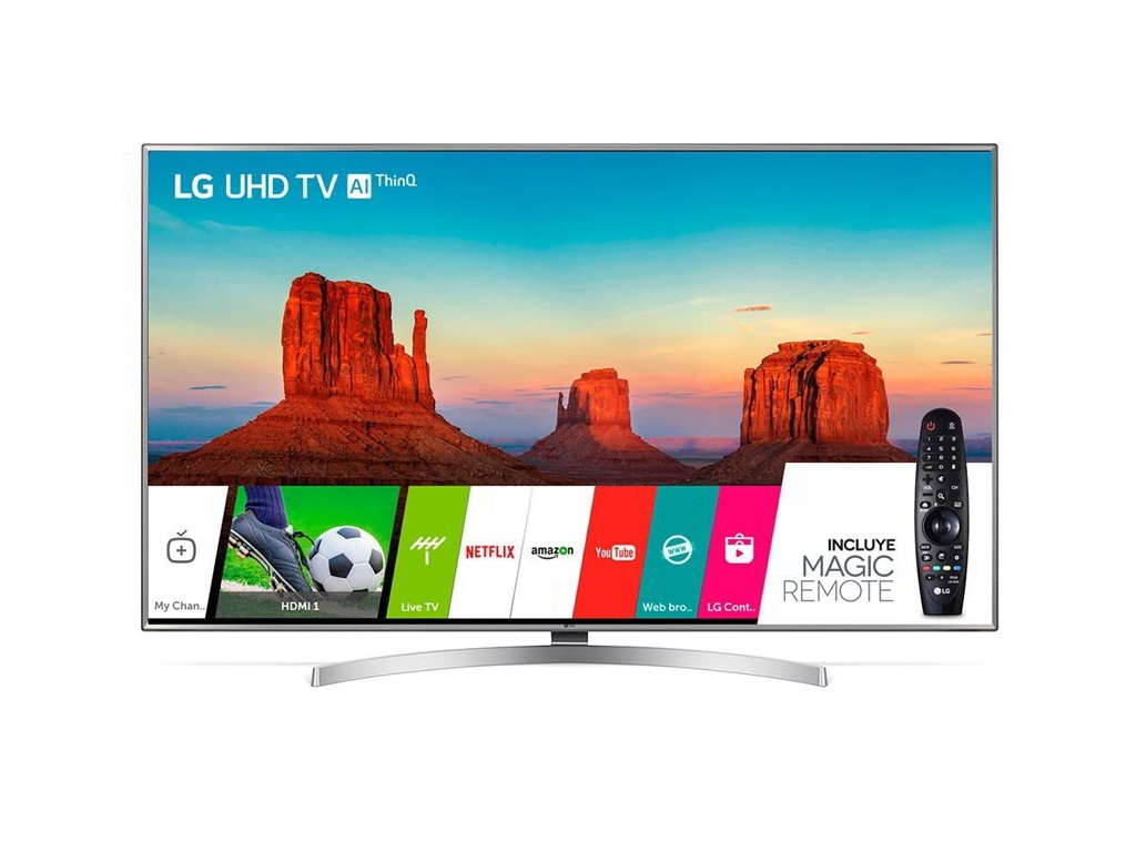 "Televisor LG LED 4k Ultra HD 55"" Smart"