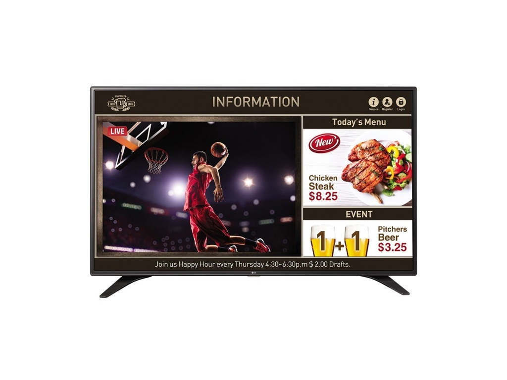 "TV LG LED FHD SUPERSIGN 49"" SMART SIGNAGE"
