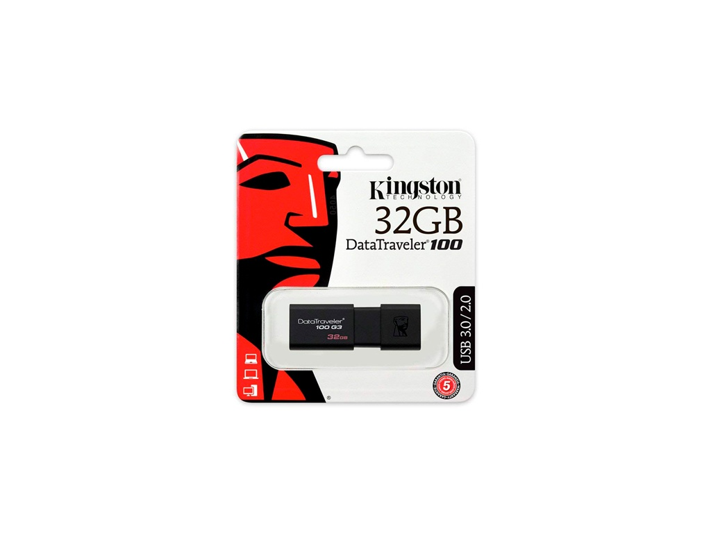 Pendrive Kingston USB DT100G3/32GB