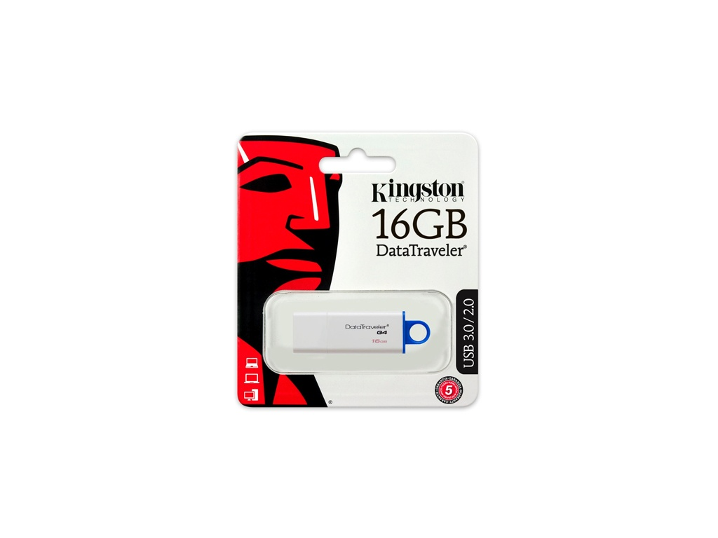 Pendrive Kingston USB DTIG4/16GB 3.0