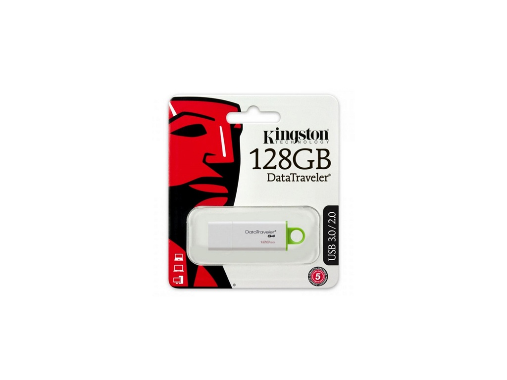 Pendrive Kingston USB DTIG4/128GB