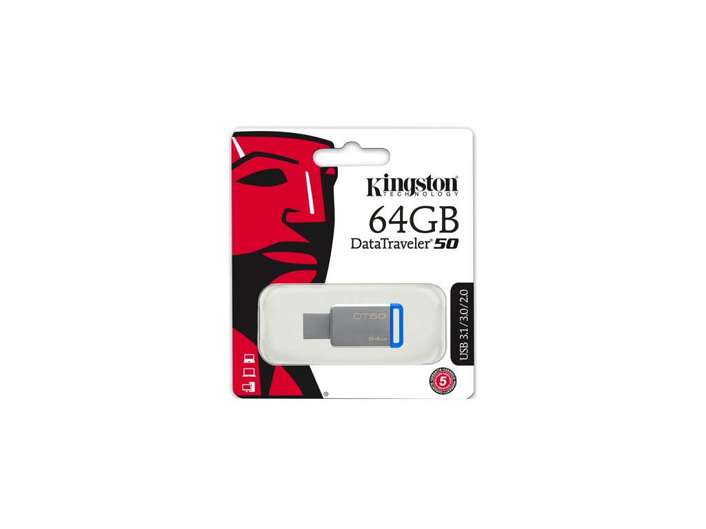 Pendrive Kingston USB DT50/64GB