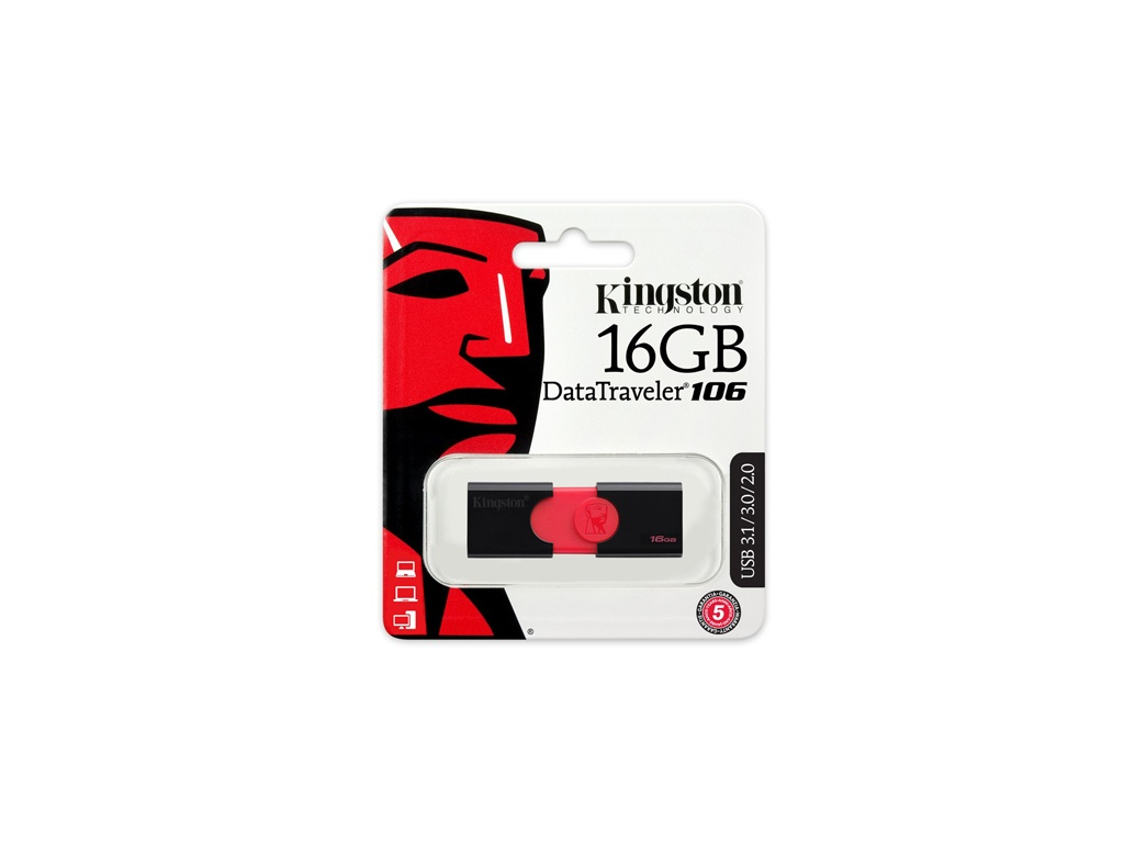 Pendrive Kingston USB  DT106/16GB
