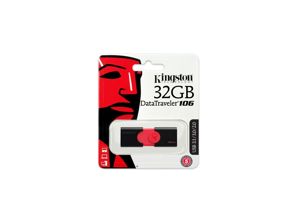 Pendrive Kingston USB DT106/32GB