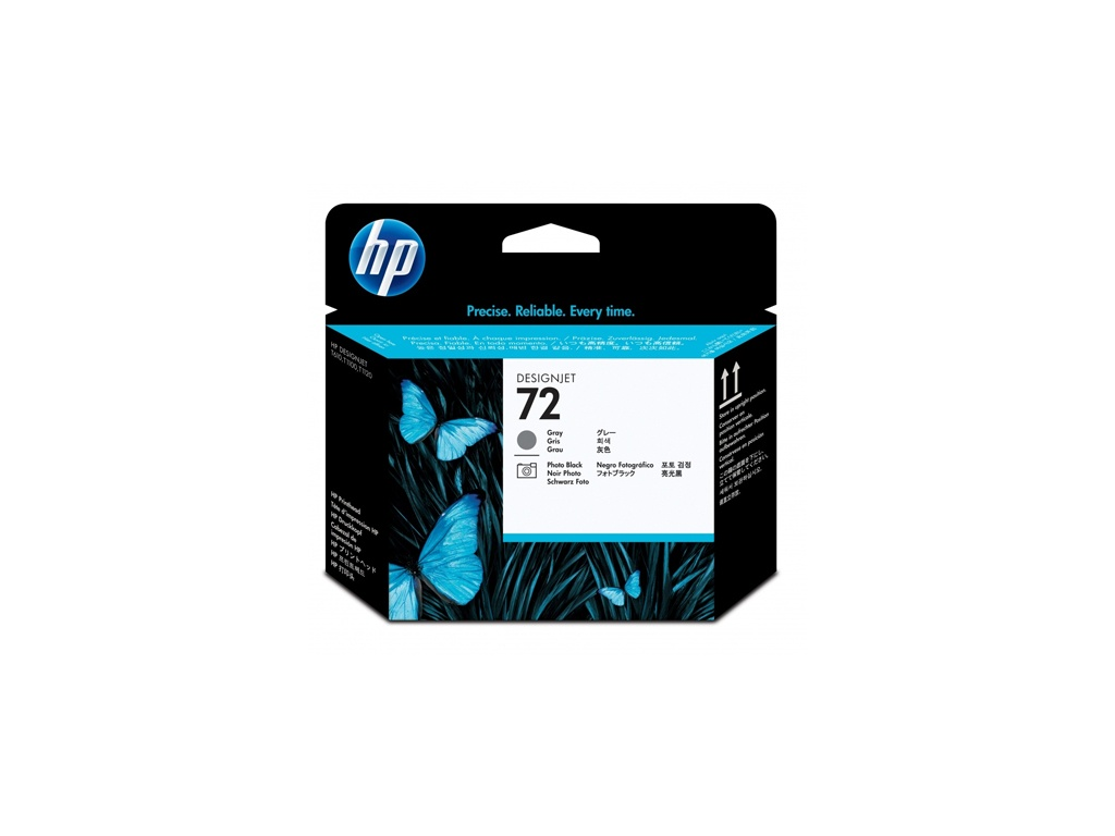 Cabezal Original HP C9380A (72) Photo Negro y Gris