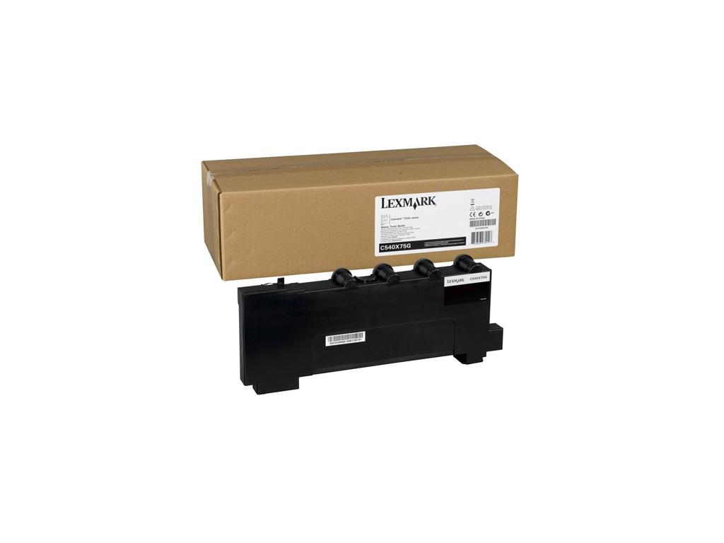 Contenedor Lexmark C540X75G de Toner Residual