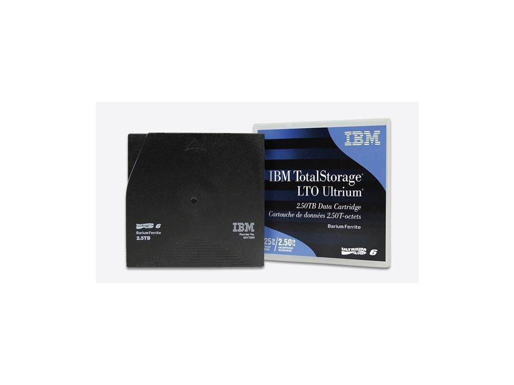 Cintas de Respaldo IBM Ultrium LTO 6 00V7590 (2.5TB/6.25TB)