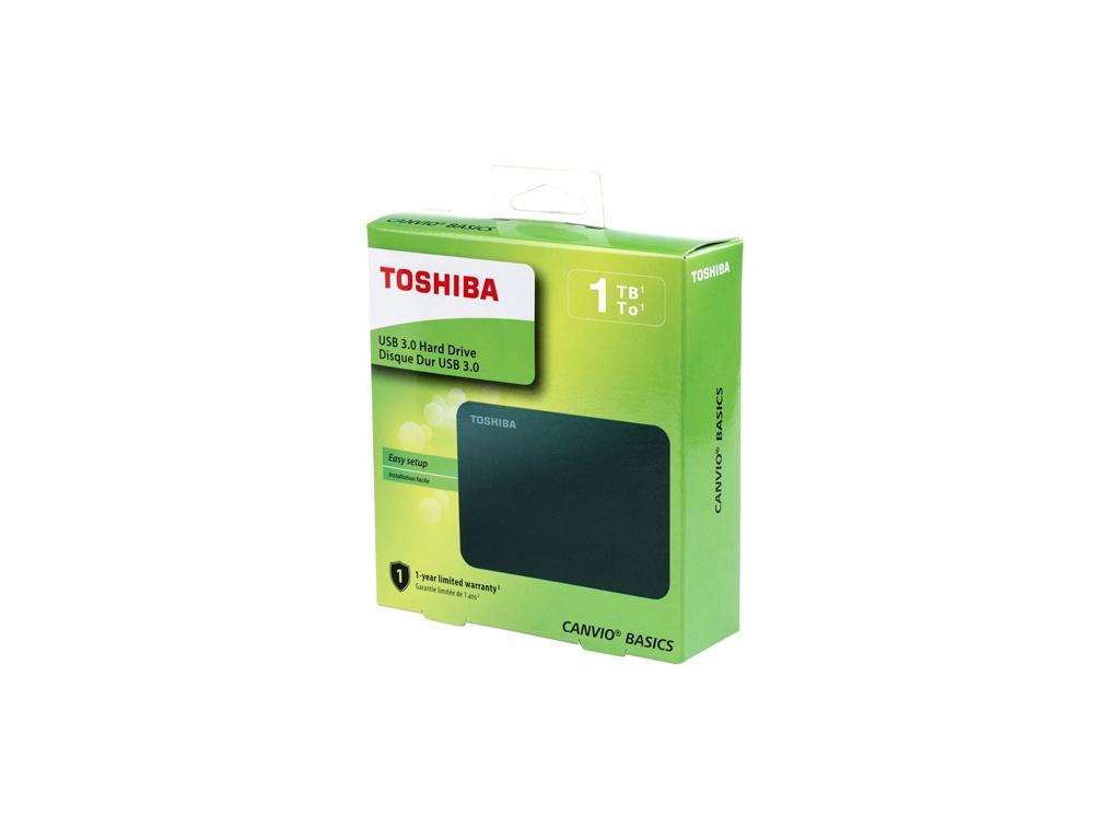 Disco Duro externo Toshiba Canvio Basics 1TB