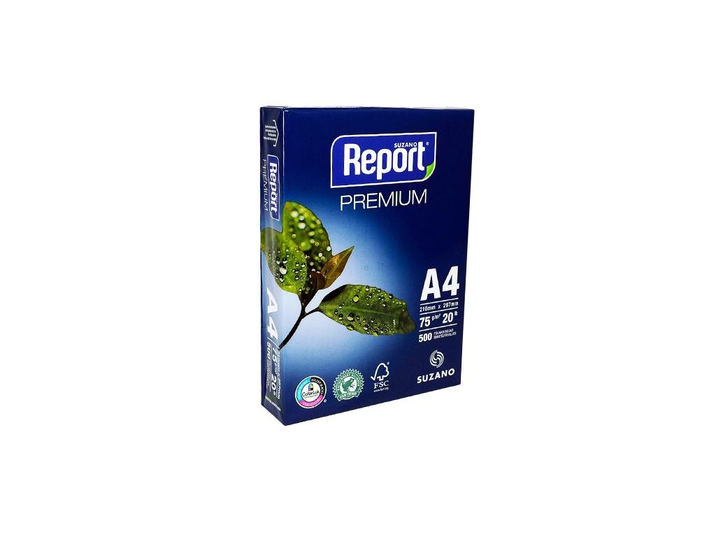 Papel Report Premium A4 75grs 500 hojas