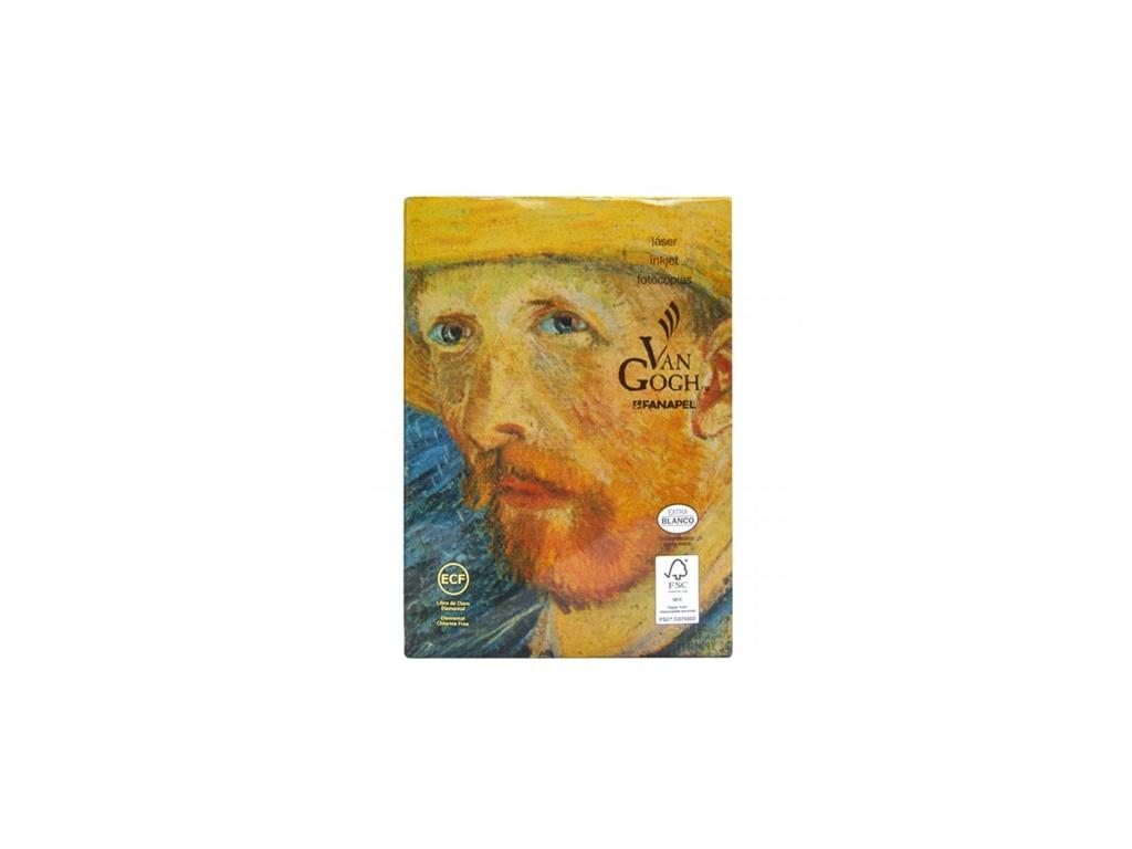 Papel en resma Van Gogh color blanco A4 75 grs