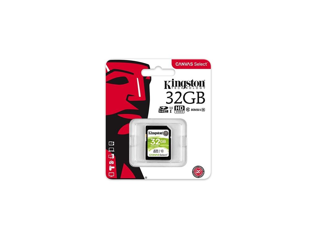 Memoria Kingston SDS/32GB SDHC Class 10
