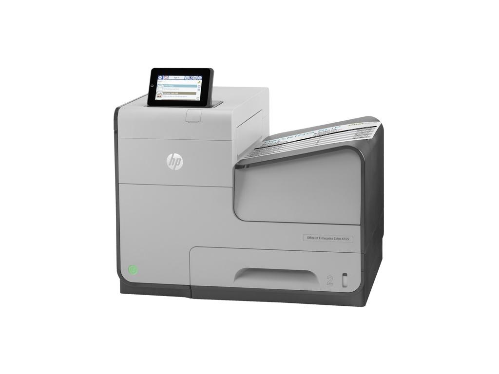Impresora Chorro de Tinta HP Empresarial color Officejet X555dn