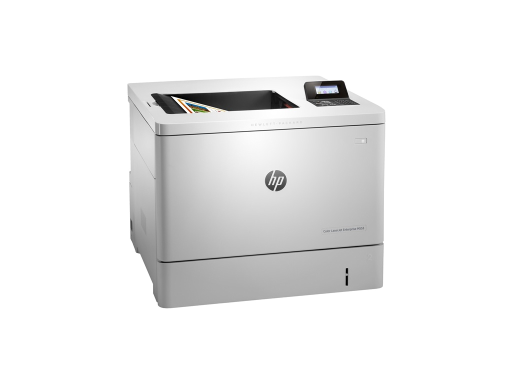 Impresora Láser Color HP LaserJet Enterprise M553dn Color - A dos caras -