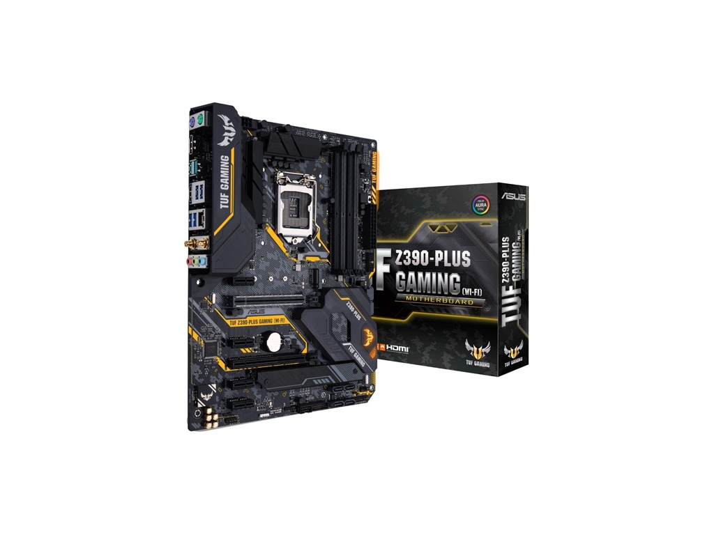 Motherboard Asus Z390 Plus Tuf - LGA 1151- DDR4 - 8va y 9Th Gen Wifi