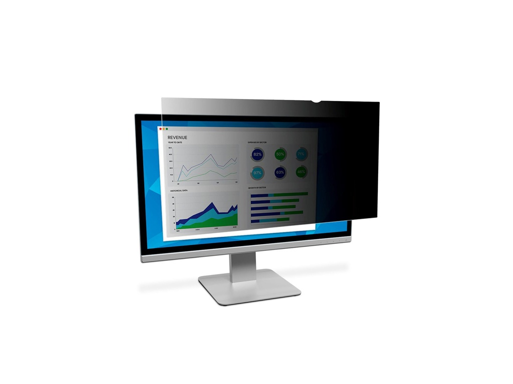 "Filtro de Privacidad 3M PF230W9B 23"" for Desktop Monitor"
