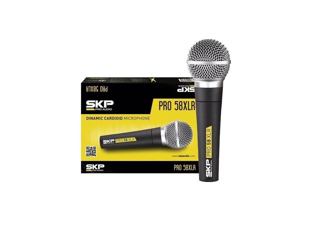 Micrófono dinámico profesional SKP Pro58XLR
