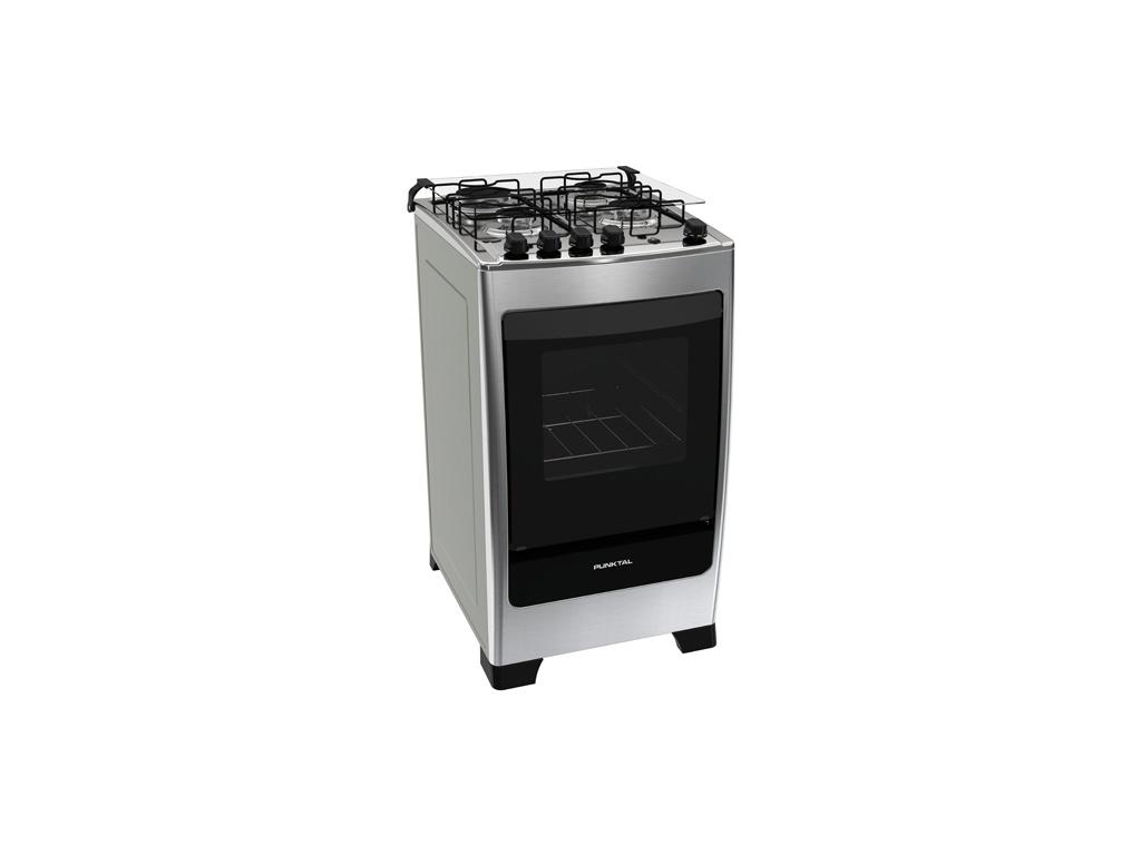 Cocina Punktal Encanto inox PK-540 - 4 Hornallas a gas