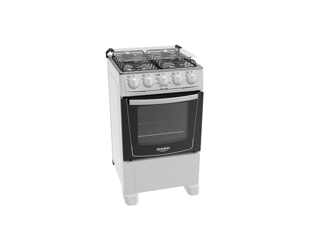 Cocina Punktal DAKO DA-40 - 4 hornallas a gas