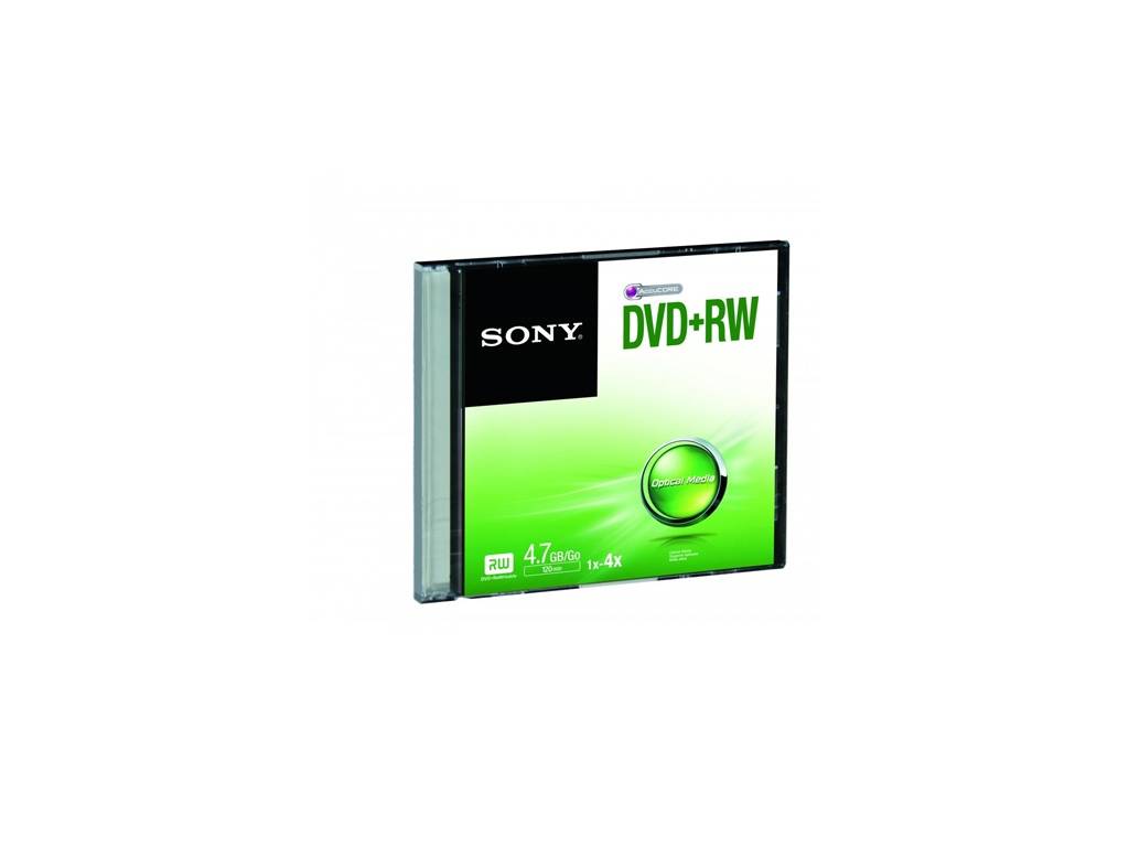 Medio Optico Sony DVD+RW SLIM DPW47SS/T