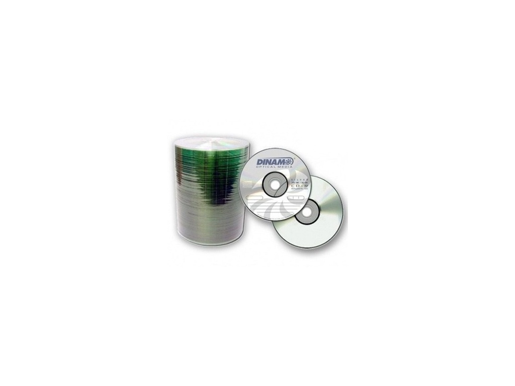 Medio optico CD dinam 52x 80 min Presentacion en Bulk 100unid  CDD01