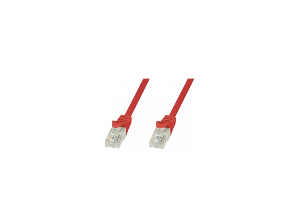 Patchcord Techly CAT 6 - 3 m / 10 feet  - Rojo - 100% Cobre - (829686)